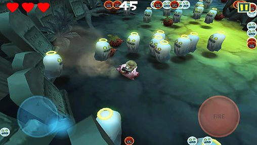 Screenshots of the Radish rider game for iPhone, iPad or iPod.