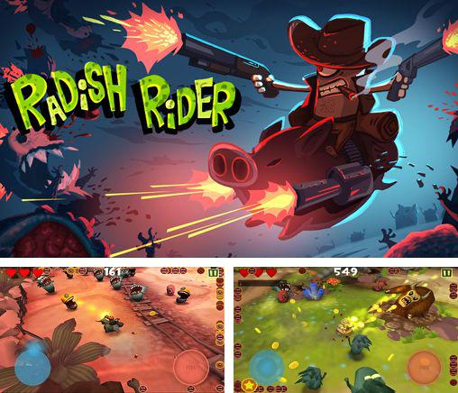 In addition to the game Adventures of Poco Eco: Lost sounds for iPhone, iPad or iPod, you can also download Radish rider for free.
