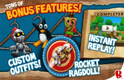 Descarga gratuita de Ragdoll Blaster 3: Deluxe para iPhone, iPad y iPod.