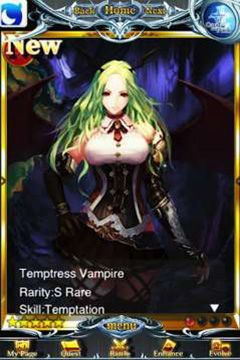 Capturas de pantalla del juego Rage of Bahamut para iPhone, iPad o iPod.