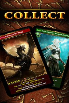 Screenshots do jogo Rage of Bahamut para iPhone, iPad ou iPod.