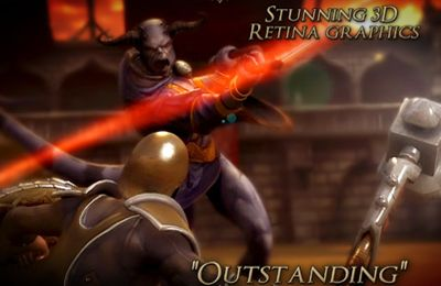 Écrans du jeu Rage of the Gladiator pour iPhone, iPad ou iPod.