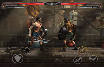 Screenshots of the Rage Warriors game for iPhone, iPad or iPod.