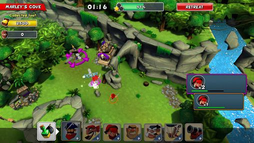 Download Raids of glory iPhone free game.
