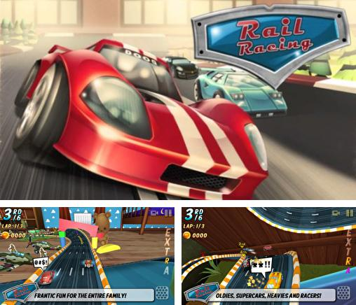 In addition to the game MMX racing for iPhone, iPad or iPod, you can also download Rail racing for free.