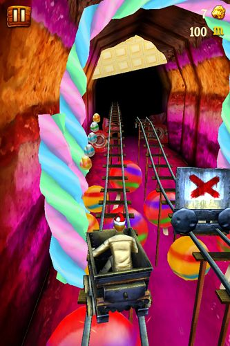 Rail rush iPhone game - free  Download ipa for iPad,iPhone,iPod