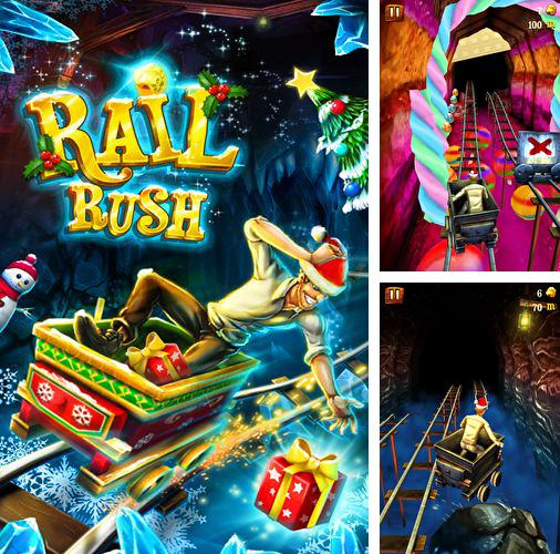 In addition to the game Pocket Climber for iPhone, iPad or iPod, you can also download Rail rush for free.