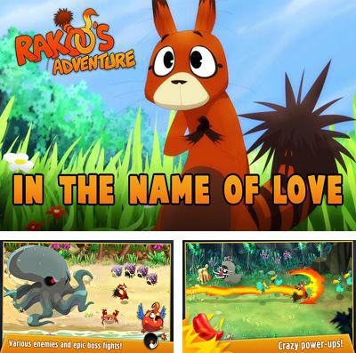 In addition to the game To-Fu fury for iPhone, iPad or iPod, you can also download Rakoo's Adventure for free.