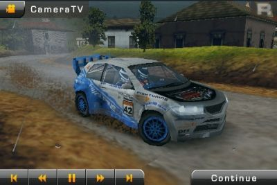 Capturas de pantalla del juego Rally Master Pro 3D para iPhone, iPad o iPod.