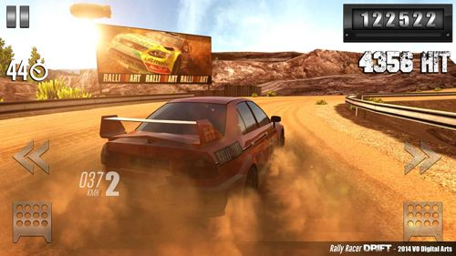 Descarga gratuita de Rally racer: Drift para iPhone, iPad y iPod.