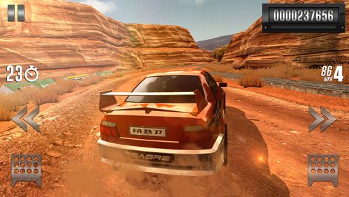 Screenshots vom Spiel Cars: Fast as lightning für iPhone, iPad oder iPod.