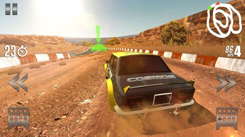 Capturas de pantalla del juego Rally racer: Drift para iPhone, iPad o iPod.