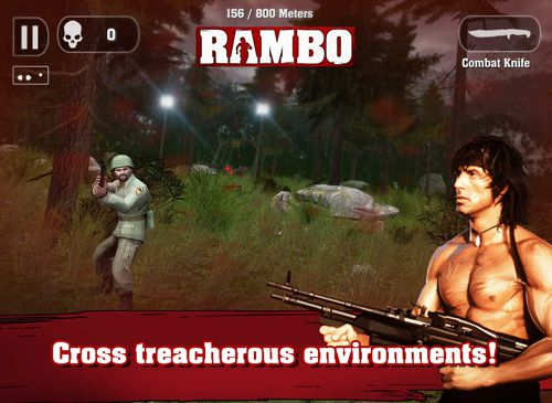 Descarga gratuita de Rambo para iPhone, iPad y iPod.