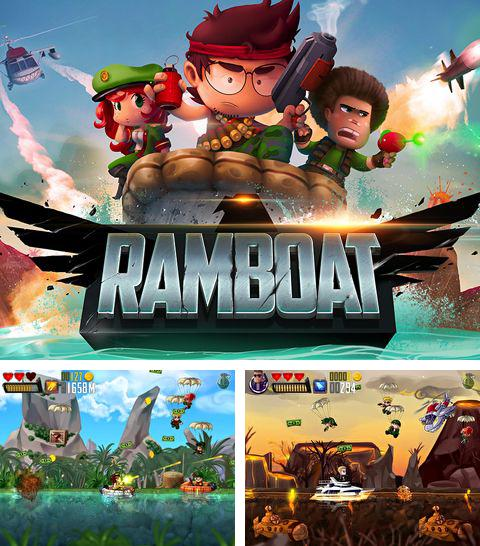 In addition to the game Groove coaster for iPhone, iPad or iPod, you can also download Ramboat for free.