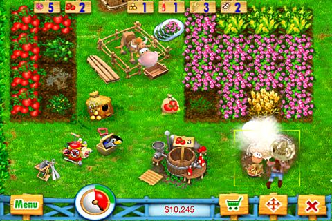 Descarga gratuita de Ranch rush para iPhone, iPad y iPod.