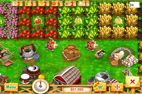 Capturas de pantalla del juego Ranch rush para iPhone, iPad o iPod.