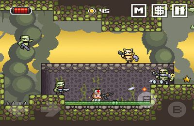 Screenshots of the Random Heroes 2 game for iPhone, iPad or iPod.