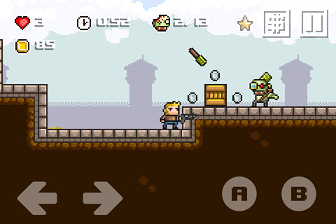 Capturas de pantalla del juego Random heroes 3 para iPhone, iPad o iPod.