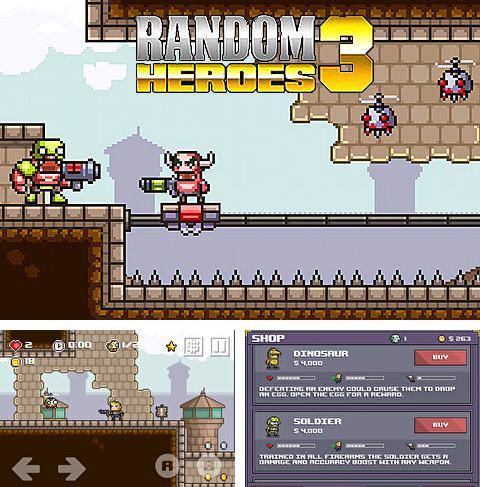 In addition to the game Can Knockdown 3 for iPhone, iPad or iPod, you can also download Random heroes 3 for free.