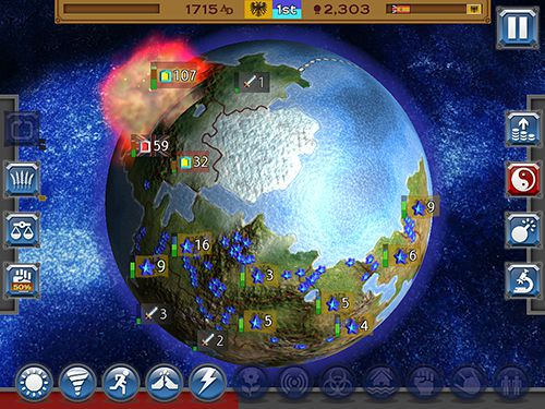 Capturas de pantalla del juego Rapture: World conquest para iPhone, iPad o iPod.