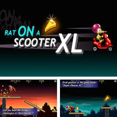 In addition to the game Duck force for iPhone, iPad or iPod, you can also download Rat On A Scooter XL for free.