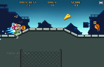 Игра Rat On A Skateboard для iPhone