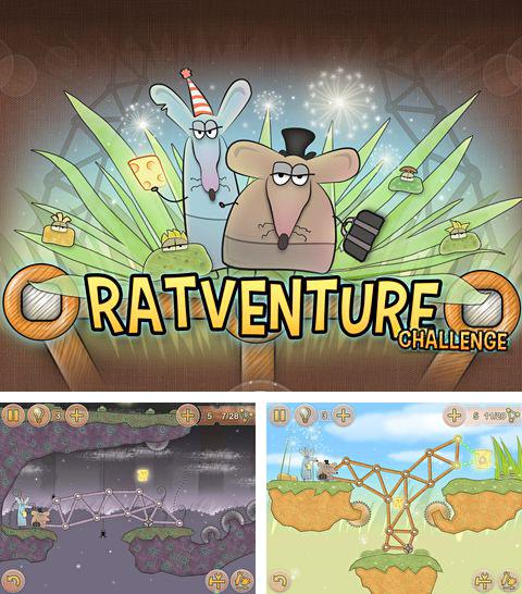 In addition to the game Scuba dupa for iPhone, iPad or iPod, you can also download Ratventure: Challenge for free.