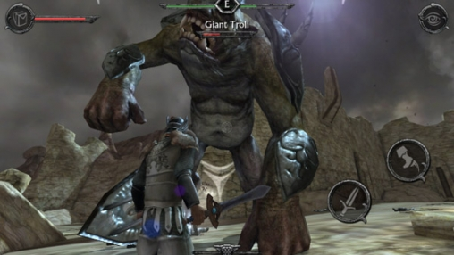 Descarga gratuita de Ravensword: Shadowlands para iPhone, iPad y iPod.