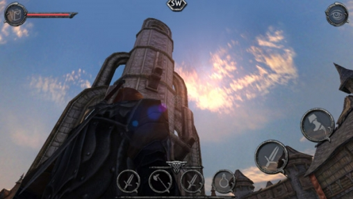 Écrans du jeu Ravensword: Shadowlands pour iPhone, iPad ou iPod.