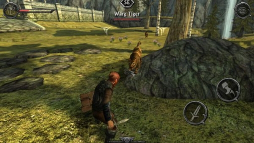 Capturas de pantalla del juego Ravensword: Shadowlands para iPhone, iPad o iPod.