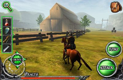 Capturas de pantalla del juego Ravensword: The Fallen King para iPhone, iPad o iPod.
