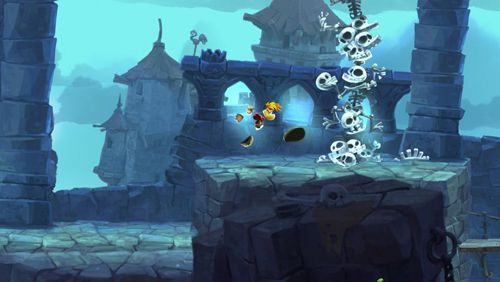 Capturas de pantalla del juego Rayman adventures para iPhone, iPad o iPod.