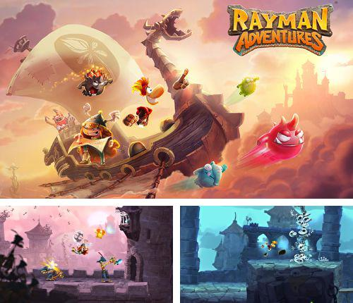 In addition to the game Gods and glory for iPhone, iPad or iPod, you can also download Rayman adventures for free.