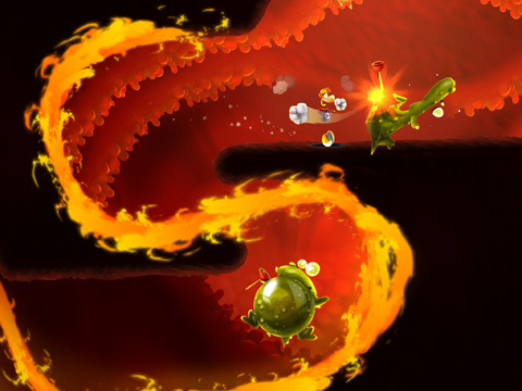 Descarga gratuita de Rayman Fiesta Run para iPhone, iPad y iPod.