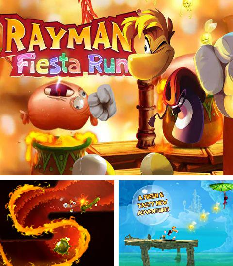 In addition to the game Shadowgun for iPhone, iPad or iPod, you can also download Rayman Fiesta Run for free.