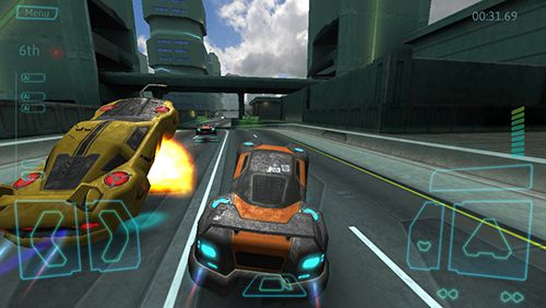 Screenshots vom Spiel Reaction drive für iPhone, iPad oder iPod.