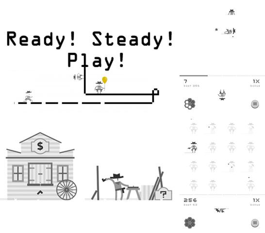 In addition to the game Hoppetee! for iPhone, iPad or iPod, you can also download Ready! Steady! Play! for free.