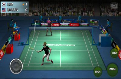Download Real Badminton iPhone free game.