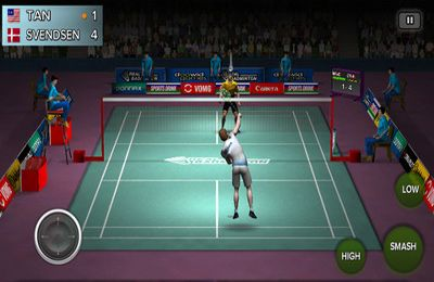 Screenshots of the Real Badminton game for iPhone, iPad or iPod.