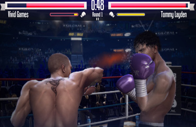 Capturas de pantalla del juego Real Boxing para iPhone, iPad o iPod.