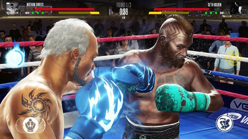 Download Real boxing 2 iPhone free game.