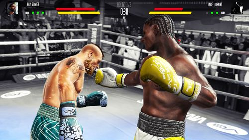 Descarga gratuita de Real boxing 2 para iPhone, iPad y iPod.