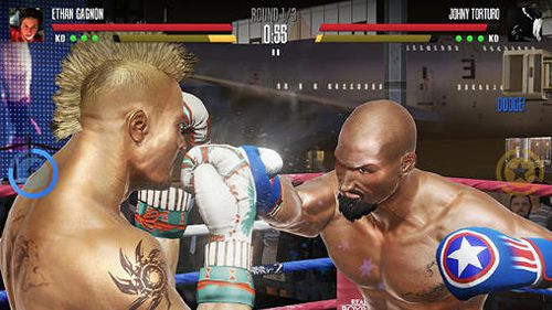 Capturas de pantalla del juego Real boxing 2 para iPhone, iPad o iPod.