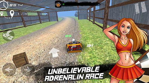 Download Real kart iPhone free game.