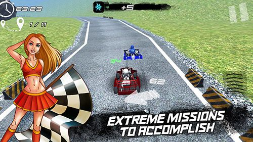 Free Real kart download for iPhone, iPad and iPod.