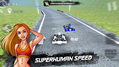 Screenshots of the Real kart game for iPhone, iPad or iPod.