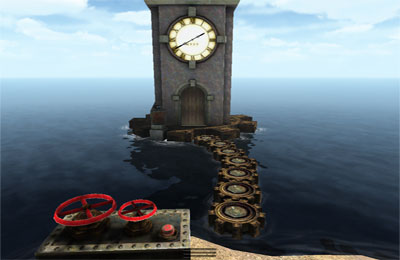 Screenshots of the Real Myst game for iPhone, iPad or iPod.
