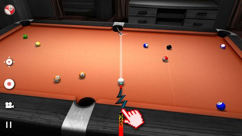 Descarga gratuita de Real pool 3D para iPhone, iPad y iPod.