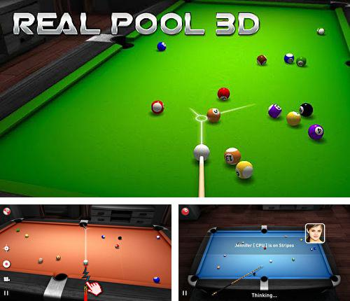 In addition to the game Fluffy Birds for iPhone, iPad or iPod, you can also download Real pool 3D for free.