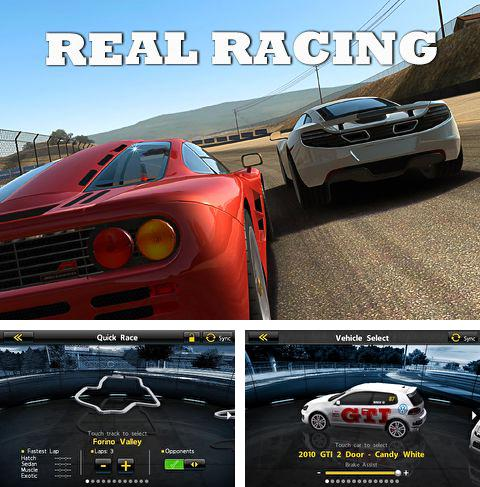 In addition to the game Ready! Steady! Play! for iPhone, iPad or iPod, you can also download Real racing for free.